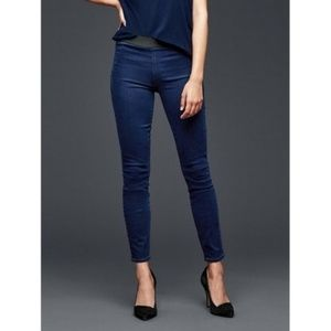 - GAP pull on denim leggings 28r